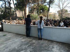 Agresión fascista en el Liceo Benedetto da Norcia de Roma: «Fuera los fascistas de nuestras escuelas y de nuestros vecindarios»