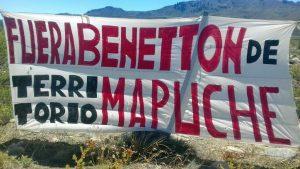 Benetton y el Estado contra los mapuche