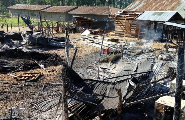 Centro Ebola di MSF a Katwa