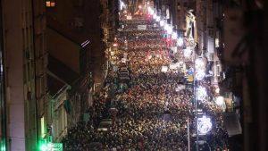 Οι διαμαρτυρίες στο Βελιγράδι συνεχίζουν και εξαπλώνονται στη Σερβία