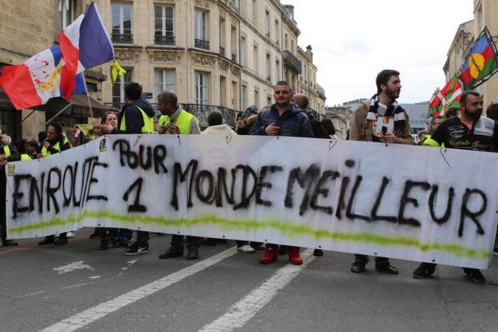 [Gilets Jaunes – Acte 13] Reportage photo à Bordeaux