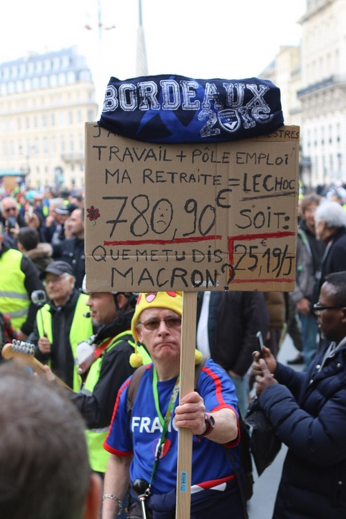 [Gilets Jaunes – Acte 13 ] Reportage photo à Bordeaux11