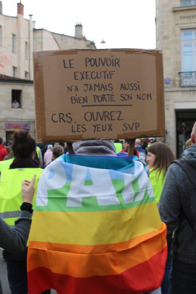 [Gilets Jaunes – Acte 13 ] Reportage photo à Bordeaux18