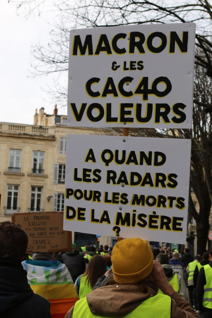 [Gilets Jaunes – Acte 13 ] Reportage photo à Bordeaux23