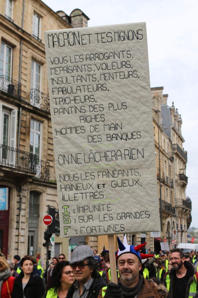 [Gilets Jaunes – Acte 13 ] Reportage photo à Bordeaux31