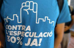 Proposen estendre la mesura del 30% d'habitatge protegit a tota Catalunya