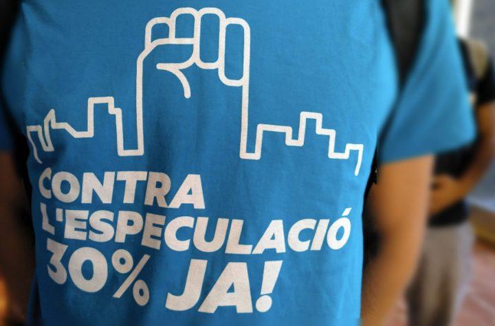 Proponen extender la medida del 30% de vivienda protegida a toda Cataluña