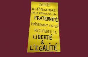 Tres meses de revuelta por parte de los Chalecos amarillos: evaluación y perspectivas