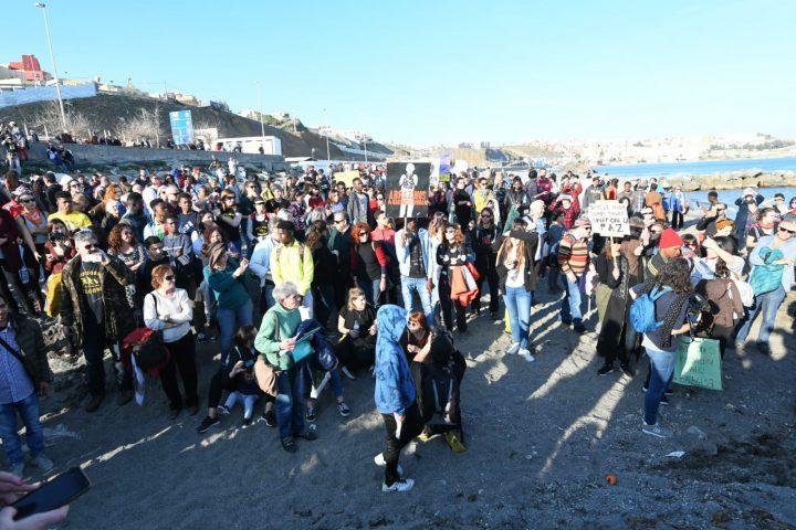 VI Marcha de la Dignidad. Aniversario Muertes del Tarajal ANTONIO SEMPERE (3)