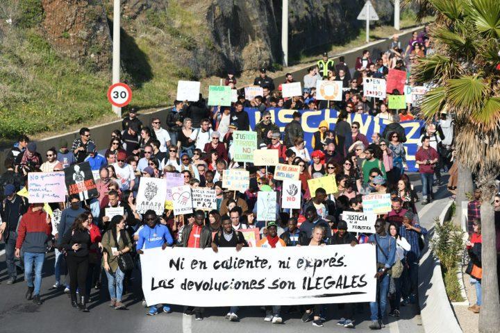 VI Marcha de la Dignidad. Aniversario Muertes del Tarajal ANTONIO SEMPERE (5)