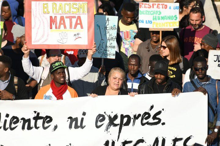 VI Marcha de la Dignidad. Aniversario Muertes del Tarajal ANTONIO SEMPERE (6)