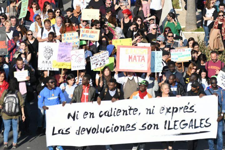 VI Marcha de la Dignidad. Aniversario Muertes del Tarajal ANTONIO SEMPERE (7)