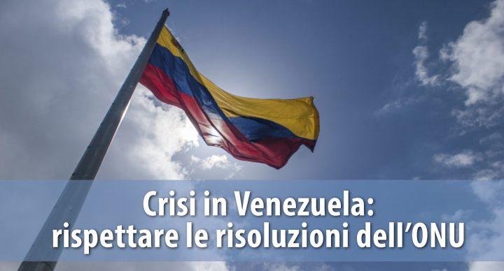 Respetar las decisiones de la ONU, una carta abierta a Venezuela y al Gobierno de la República Checa