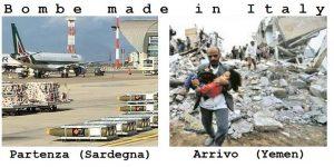 Governo Italiano denunciato per traffico illecito di armi verso l'Arabia Saudita