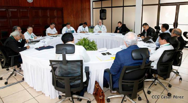 Dio inicio el diálogo nacional en Nicaragua