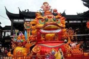 China se prepara para festejar y recibir el nuevo año lunar del cerdo