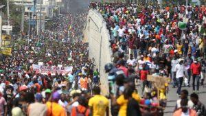 """Jean Bonald Golinsky, dirigente sindical: """"El pueblo haitiano no puede vivir más en estas condiciones"""""""