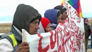 Comunidades indígenas de Jujuy: «Si intenta entrar otra empresa, la vamos a sacar»