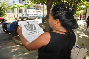 La nueva Constitución cubana está en los barrios