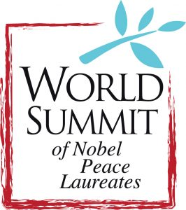 The world summit of Nobel Peace Laureates to be held in Yucatán in September 2019