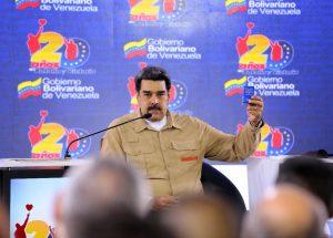 El presidente Maduro convocó al diálogo, la paz y al respeto por la soberanía de Venezuela