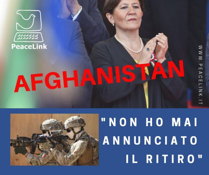 """Trenta: """"Nessun ritiro dall'Afghanistan, mi hanno frainteso"""""""