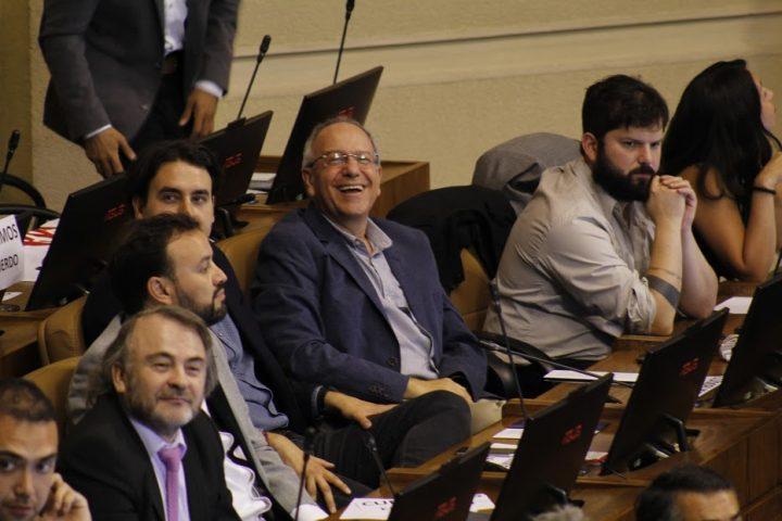 Tomás Hirsch, un año completo en el Parlamento