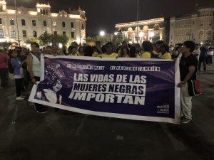 [8M Pérou] Marche pour la Journée internationale de la femme : Collectif Présence et Parole