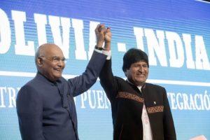 Bolivia abre relación directa con la India, la sexta economía más grande del mundo (García Linera)