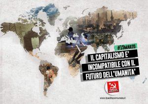 Partito Comunista: «Una politica ambientalista coerente è incompatibile con gli interessi capitalistici»