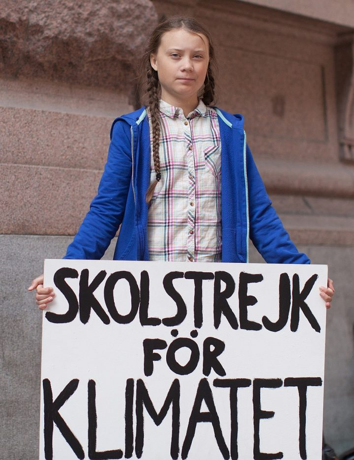 Destruam Greta Thunberg, em nome do capital