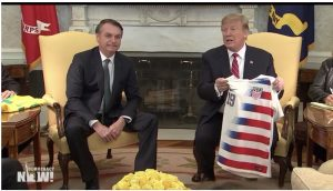"""Trump & Bolsonaro Join Forces to Back Regime Change in Venezuela & to Attack Media as """"Fake News"""""""