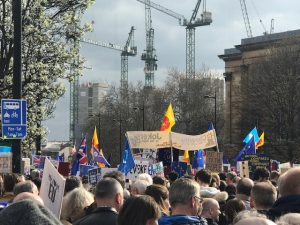 More than a million people march in London to stop Brexit