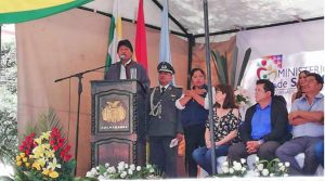 Evo Morales inaugura sistema gratuito e universal de saúde na Bolívia
