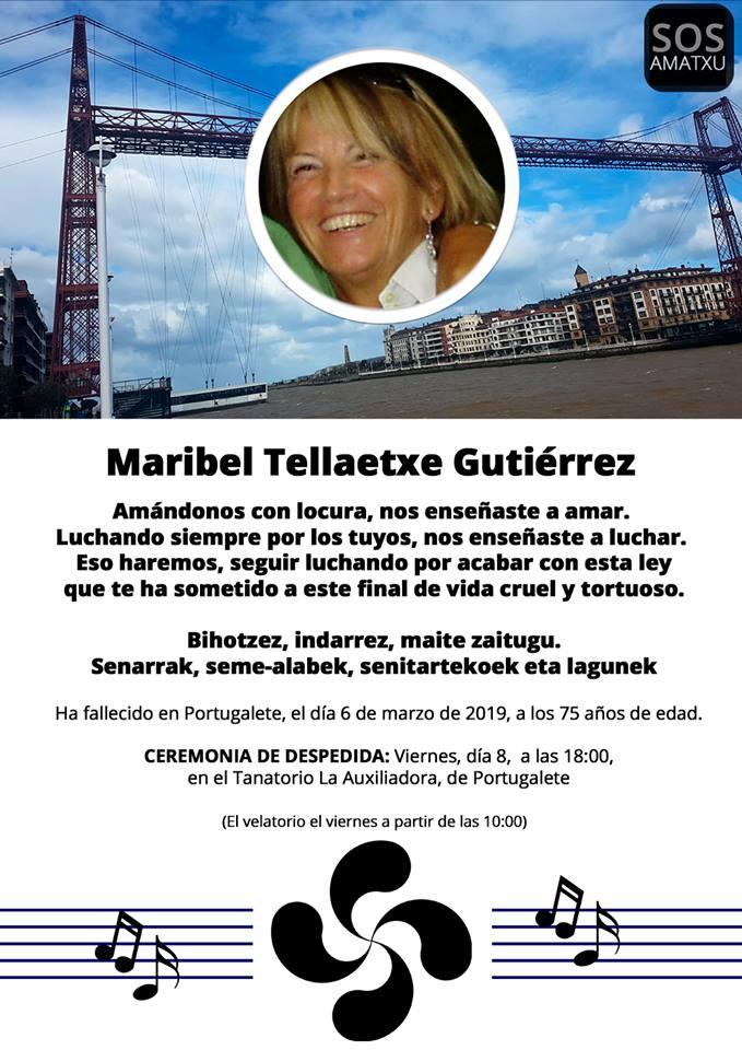 Fallece Maribel, cuya familia está pidiendo una ley para que se despenalice la eutanasia