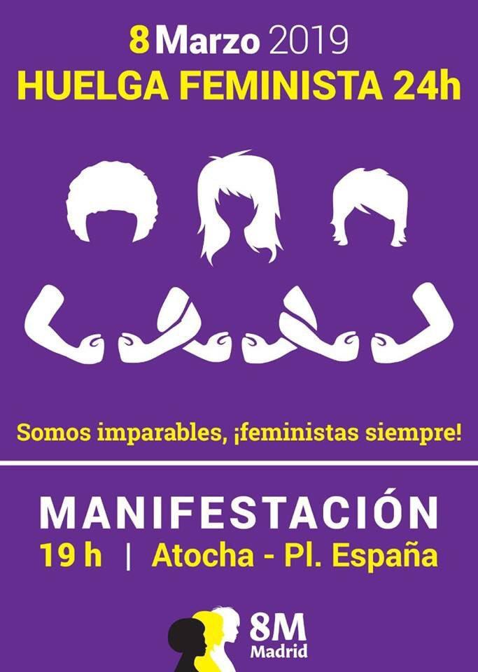¿Qué hacer y a dónde ir durante el 8M en Madrid?