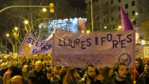 Manifestación 8M Barcelona. Paramos para cambiarlo todo
