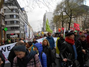 [Reportaje fotográfico en Bruselas] Huelga climática global