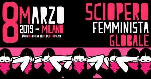 #8M #LottoMarzo – Non una di meno in piazza per lo sciopero femminista globale