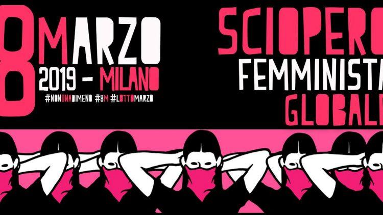 #8M #LottoMarzo - Non una di meno in piazza per lo sciopero femminista globale