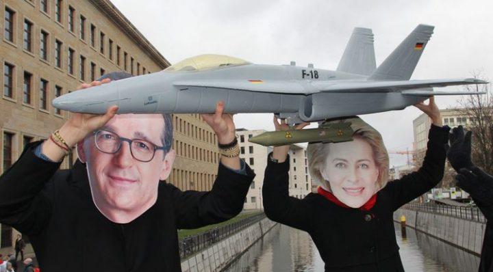 Kein deutscher Beitrag zu nuklearen Rüstungswettläufen