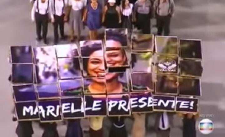Carnaval politisé au Brésil