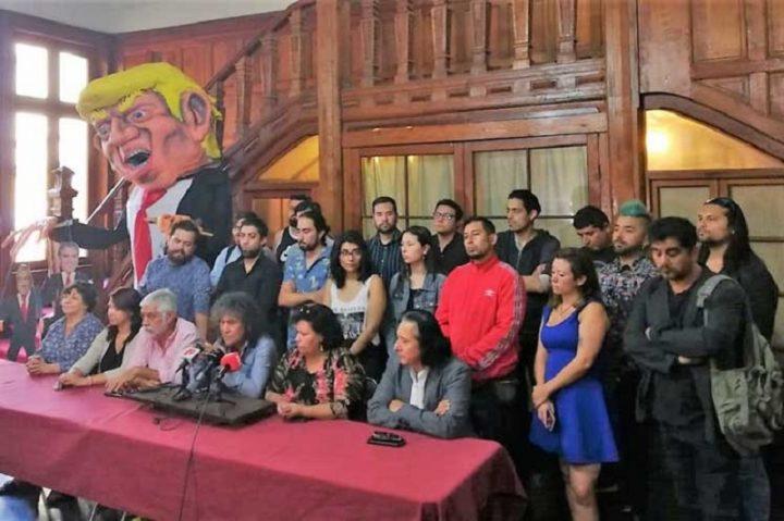 En Chile 'Concierto por el derecho a vivir en paz'