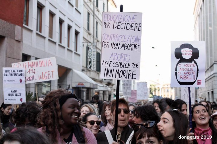 29-30-31 marzo 2019 –  Non una di meno a Verona contro il Congresso mondiale delle famiglie