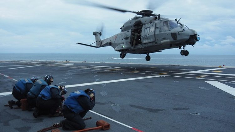esercitazione militare navale