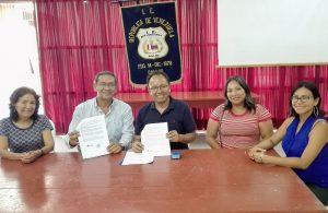 COPEHU firma un nuovo accordo per costruire la pace e la nonviolenza nelle scuole pubbliche del Perù