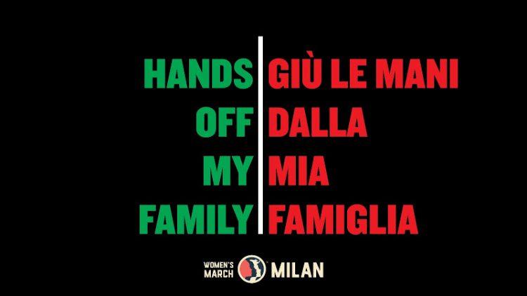 """Verona, """"Giù le mani dalla mia famiglia!"""""""