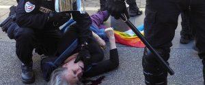 Violencia de estado. Sábado de represión en Niza