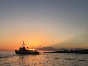 Mare Jonio riparte da Lampedusa alla volta del Mediterraneo centrale