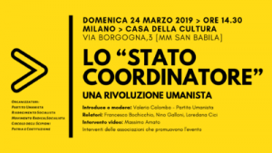"""Lo """"stato coordinatore"""": una rivoluzione umanista"""